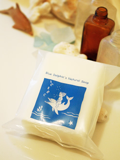 純せっけん「Blue Dolphin's Natural Soap」
