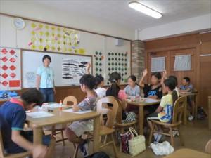 松丘小学校「海の環境学習教室」