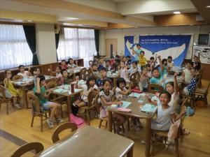 弦巻小学校「海の環境学習教室」