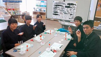 岩手県盛岡市立下橋中学校体験学習を行いました