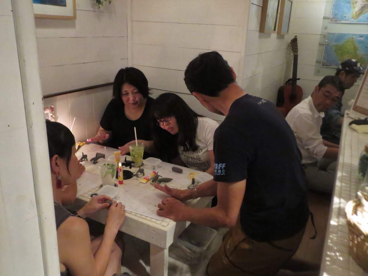 【レポート】〜大人のイルクジ時間〜ねんどでオルカをつくろう! Irukuji CAFE Jun